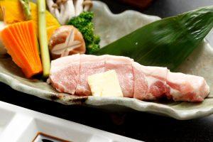 麦豚の石焼ステーキ 1人前 1,000円(税別)